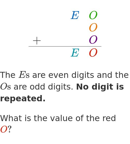 Image of an interesting problem which contains LaTeX.